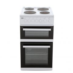 Beko EDP503W 50cm Electric Double Oven with grill Cooker - White
