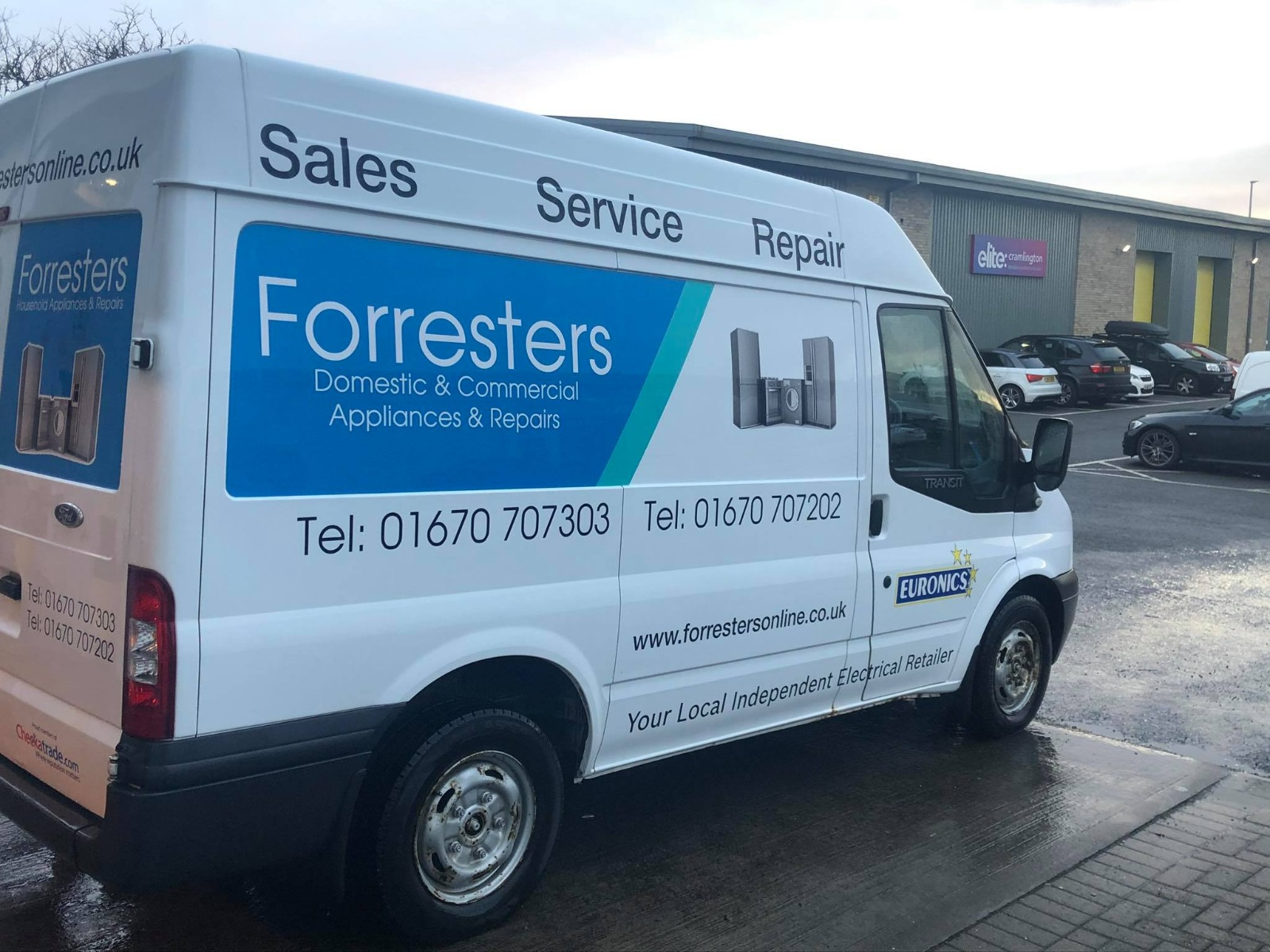 Forresters Van. Need Help? Give us a call today!